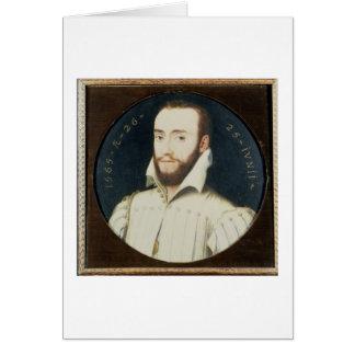 T34055 Portrait of a Bearded Gentleman, Aged 26, 1 Card