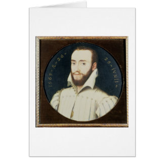 T34055 Portrait of a Bearded Gentleman, Aged 26, 1 Greeting Card
