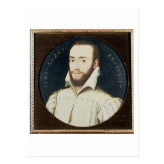 T34055 Portrait of a Bearded Gentleman, Aged 26, 1 Postcard