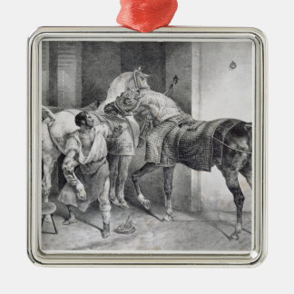 T34894 The English Farrier, 1822 (litho) Christmas Ornament