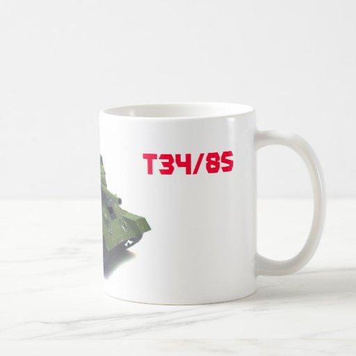 T34/85 Soviet Mug