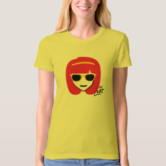 T3h l33t - girl hacker T-Shirt