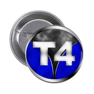 T4 6 CM ROUND BADGE