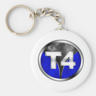 T4 BASIC ROUND BUTTON KEY RING