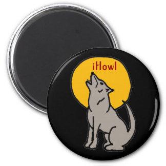 T5- iHowl Wolf Design Magnet