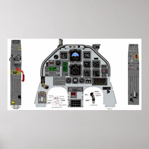 t6 cockpit poster