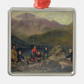 T7833 Fishing at Haweswater Christmas Ornament