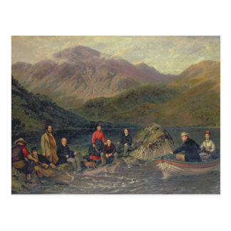 T7833 Fishing at Haweswater Postcard