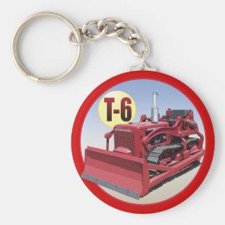 T-6 CRAWLER BASIC ROUND BUTTON KEY RING