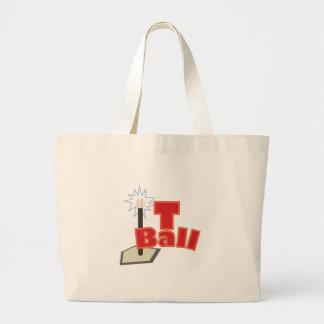 T-Ball Jumbo Tote Bag