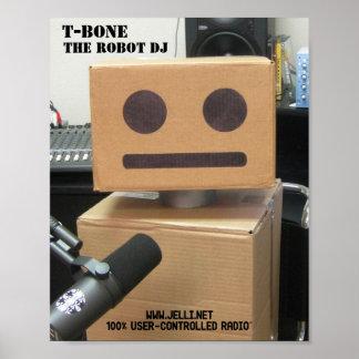 T-Bone Headshot Poster