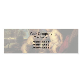 T. C. Steele-Christ Child and the Infant St. John Business Card