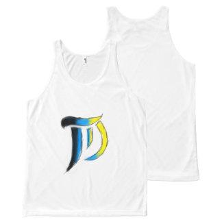 T.D. Arts Logo Uni-sex Sleeveless All-Over Print Tank Top