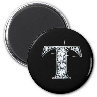 """""""T"""" Diamond Bling Magnet"""