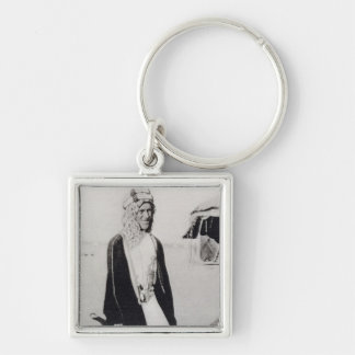 T. E. Lawrence in Arab Dress (b/w photo) Key Ring
