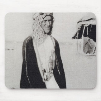 T. E. Lawrence in Arab Dress (b/w photo) Mouse Mat