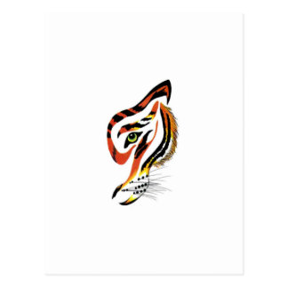 T for tigers! postcard
