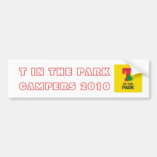 T In The Park Campers Bumper Stickers