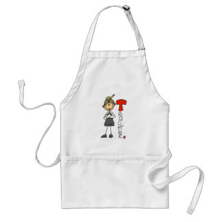 T is for Teacher Adult Apron
