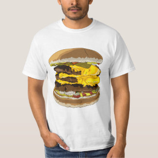 T (is for Triple Cheeseburger) Shirt