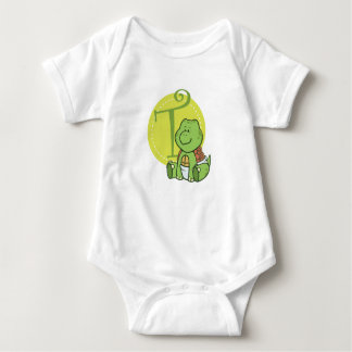 T is for Turtle Baby Bodysuit