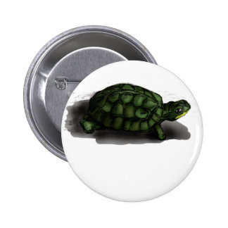 T is for Turtle Pinback Button