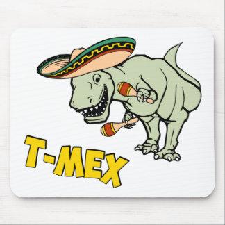 T-Mex T-Rex Mexican Tyrannosaurus Dinosaur Mouse Pad