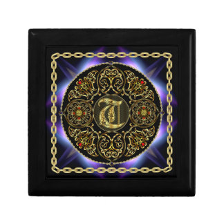 T Monogram Premium Best viewed large. see notes Small Square Gift Box