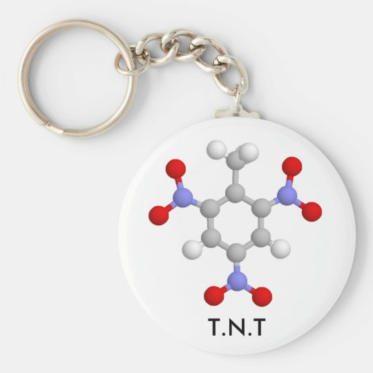 T.N.T BASIC ROUND BUTTON KEY RING