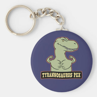 T-Pex Basic Round Button Key Ring