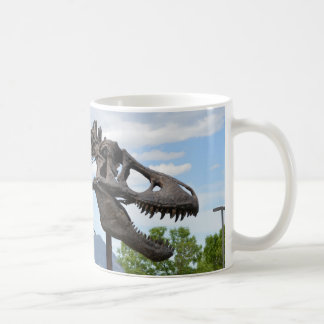 T-Rex Basic White Mug