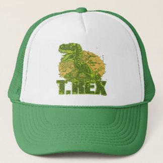 T Rex Big Dot Trucker Hat