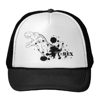 T-Rex (Black and White) Cap