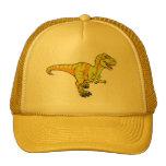 T-Rex cartoon Cap