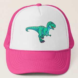 T-Rex cartoon Trucker Hat