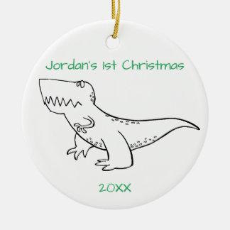 T-Rex Christmas Christmas Ornament