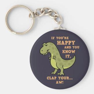 T-Rex Clap II Key Ring