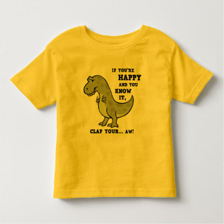 T-Rex Clap II Toddler T-Shirt