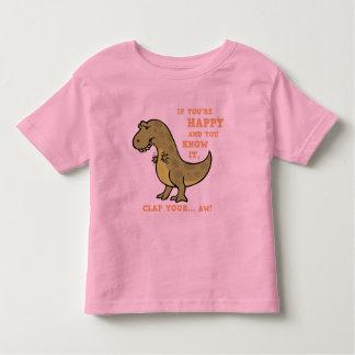 T-Rex Clap II Toddler T-Shirt