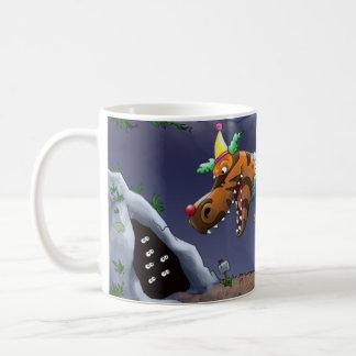 T-Rex Clown Mug