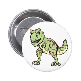 T-rex!  Customizable! Button