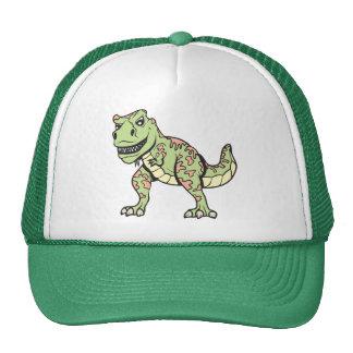 T-rex!  Customizable! Cap