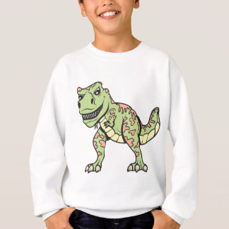 T-rex!  Customizable! Sweatshirt