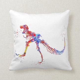 T Rex, Dinosaur, animal art, Dinosaur Cushion