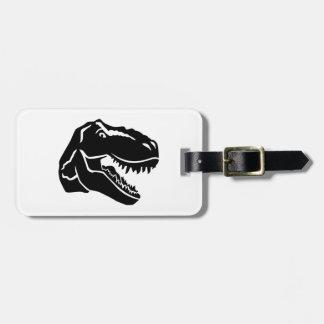 T-Rex dinosaur Luggage Tag