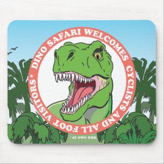 T Rex Dinosaur Safari Mouse Pad