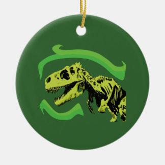 T-Rex Dinosaur Skeleton Christmas Ornament