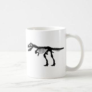 T Rex Dinosaur Skeleton Mug