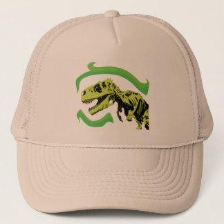 T-Rex Dinosaur Skeleton Trucker Hat