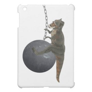 T-Rex Dinosaur Wrecking Ball iPad Mini Covers